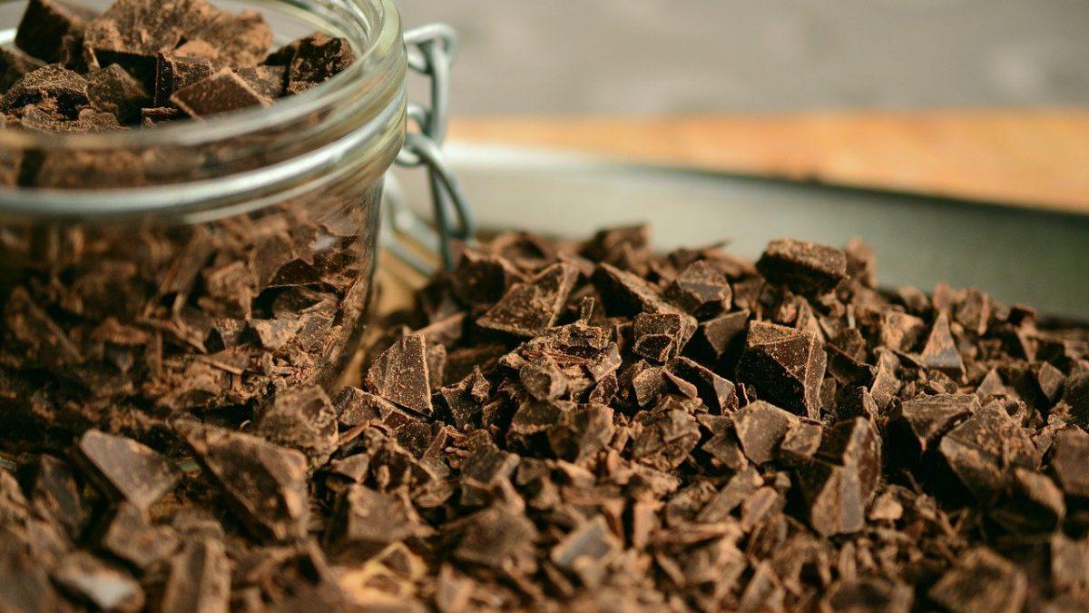 behandeling met chocolade